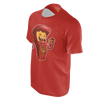 LES PIZZA GUYS: ARCADE MACHINE RED T-SHIRT