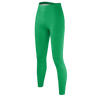 FERNANFLOO: VERDE TOTAL LEGGINGS