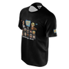 DOUBLE TOASTED: CHARACTER SELECT BLACK T-SHIRT