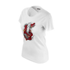 MASTER WONG: WHITE DRAGON T-SHIRT - WOMEN