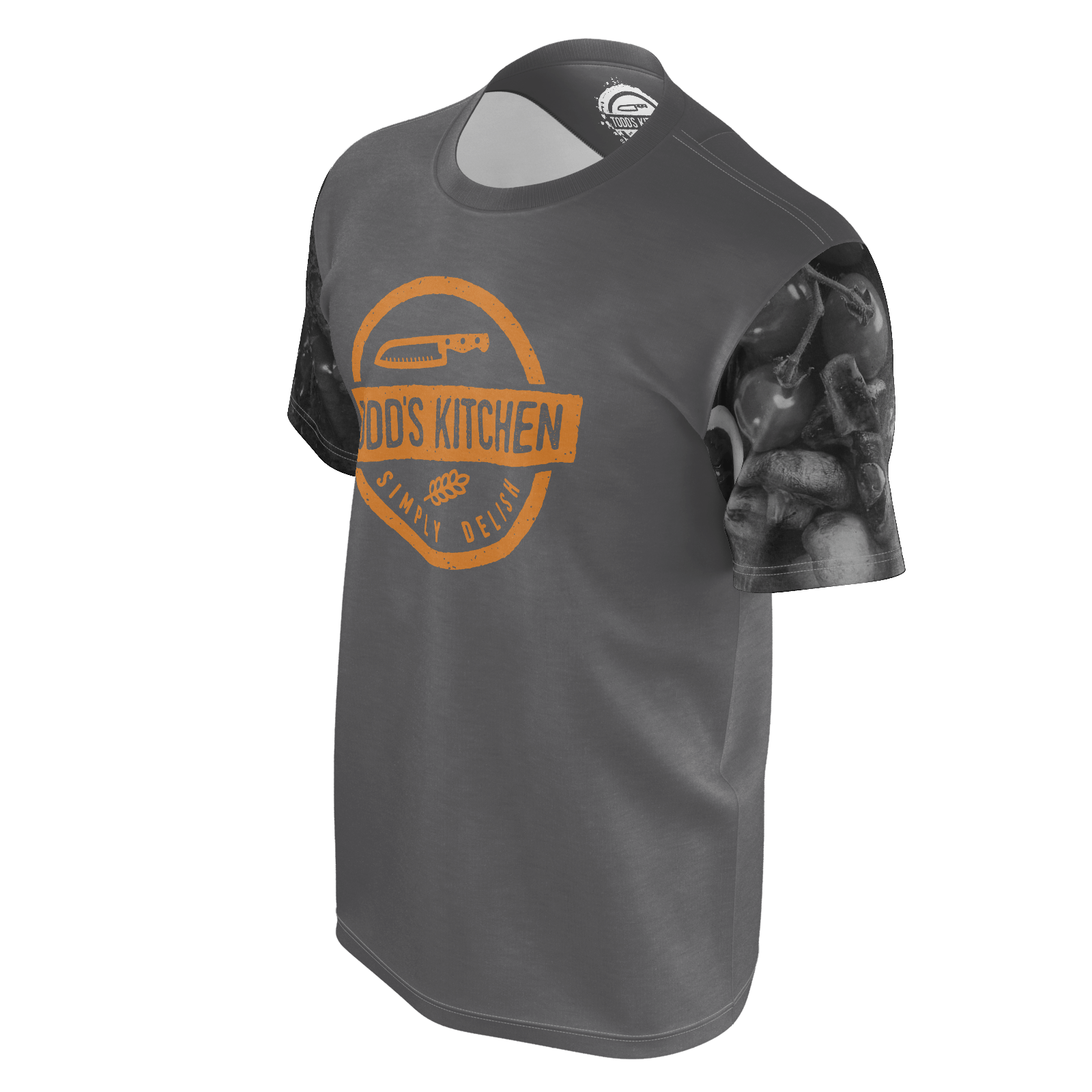 todd s kitchen gray culinary sleeves t shirt bbtv shop