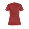 ABDALLAHSMASH026: SMASHCATS  RED T-SHIRT - WOMEN