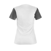 CJ SO COOL: SNEAKER  WHITE/GREY T-SHIRT - WOMEN