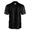 DOUBLE TOASTED: BLACK PATTERN T-SHIRT