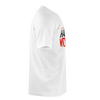 CJ SO COOL:  WOLFPACK WHITE T-SHIRT