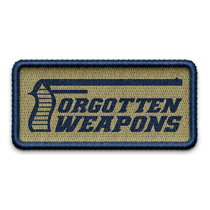 Logo Velcro Patch Blue