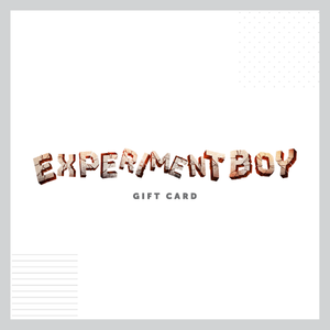 Experiment Boy Gift Cards