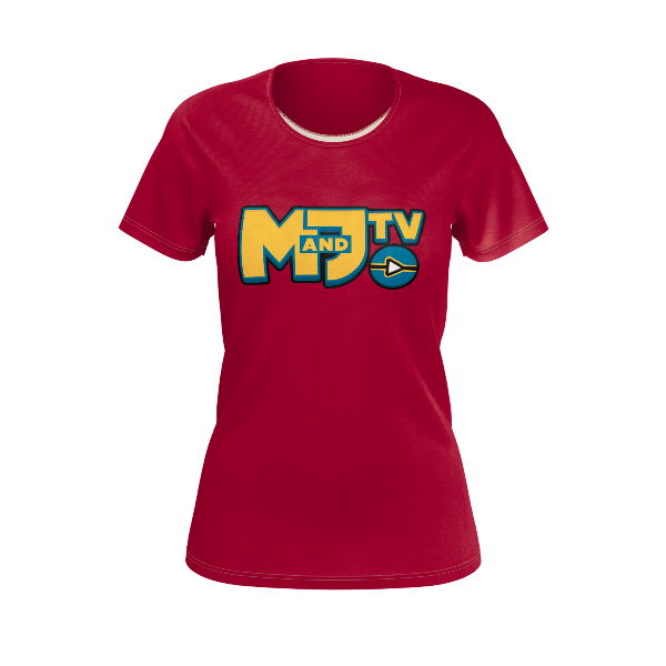 MANDJTV POKEVIDS: LOGO T-SHIRT - WOMEN