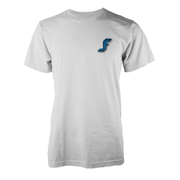 JACKFRAGS: BLUE LOGO T-SHIRT
