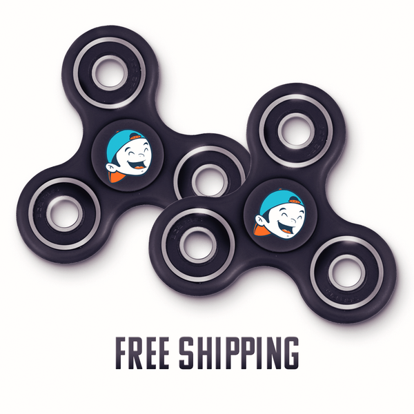 Bootramp Fidget Spinner 2 Pack | Pre-Sale ***FREE SHIPPING***
