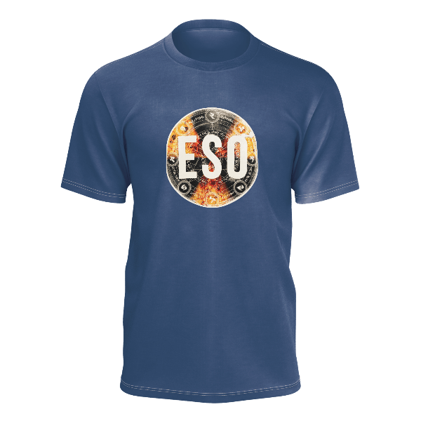 ESO: FULL COLOUR LOGO BLUE T-SHIRT - UNISEX