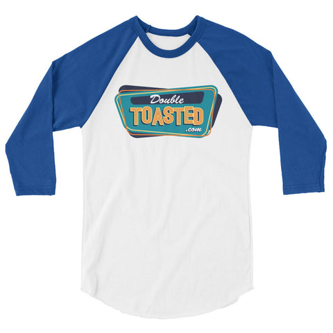 DOUBLE TOASTED: LOGO RAGLAN