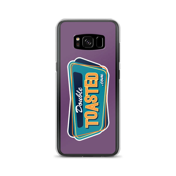 DOUBLE TOASTED: LOGO SAMSUNG CASE GALAXY S8
