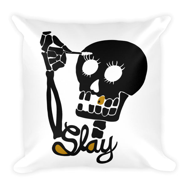 Itslikemakeup: Slay Square Pillow