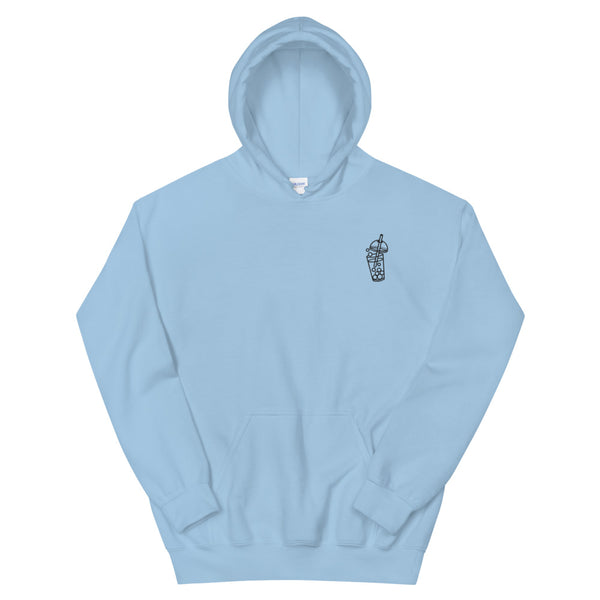 Bubble Tea Embroidered Hoodie