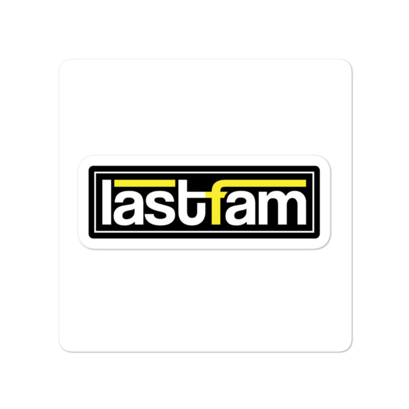 lastfam Removable Sticker