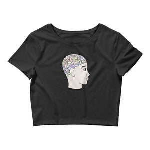Phrenology Black Crop Top