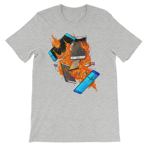 Explosion T-Shirt - Athletic Heather