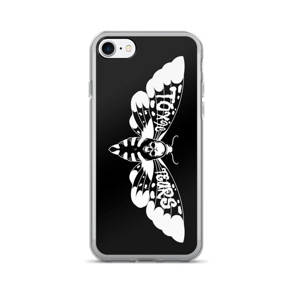 TOXIC TEARS: LIMITED EDITION GOTH MOTH IPHONE 7/7 PLUS CASE