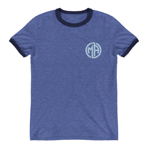 Ringer T-Shirt - Blue
