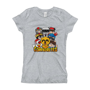 Compadretes Girls T-Shirt - Heather
