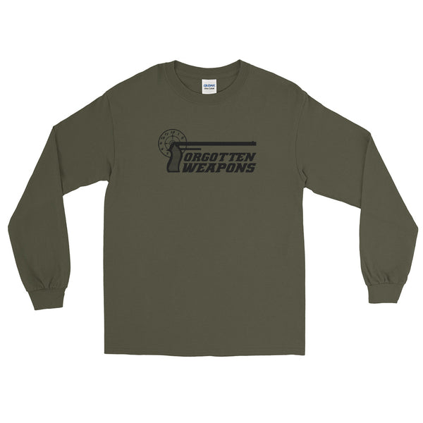 Logo Military Green Longsleeve