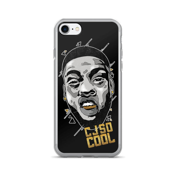 CJ SO COOL: BLACK IPHONE 7/7 PLUS CASE