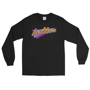 lastfam Geo Black Long Sleeve