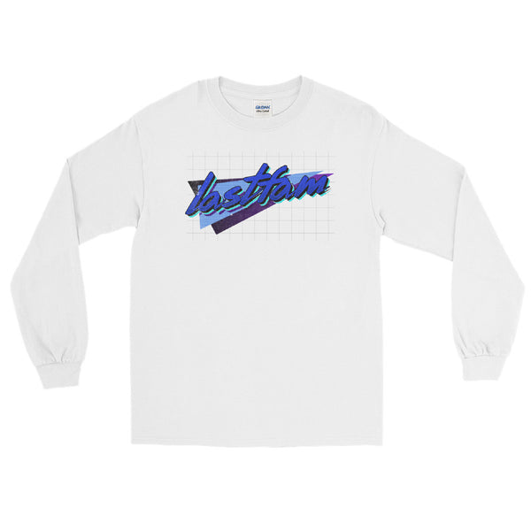 lastfam Geo White Long Sleeve