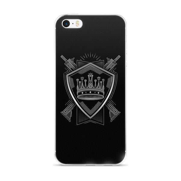 PARTIALLY ROYAL: CREST IPHONE 5/5S/SE, 6/6S, 6/6S PLUS CASE