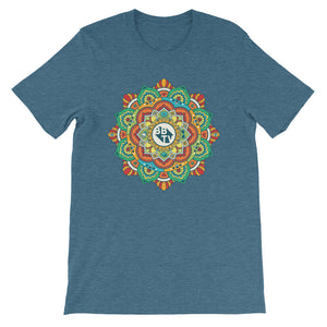 Mandala T-Shirt - Deep Teal