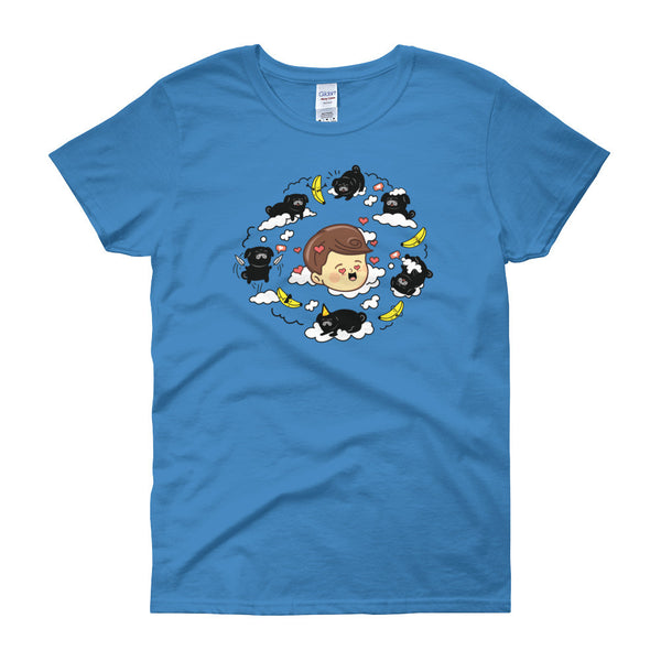 DAWKO: BLUE T-SHIRT - WOMEN