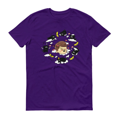 DAWKO: PURPLE T-SHIRT- UNISEX