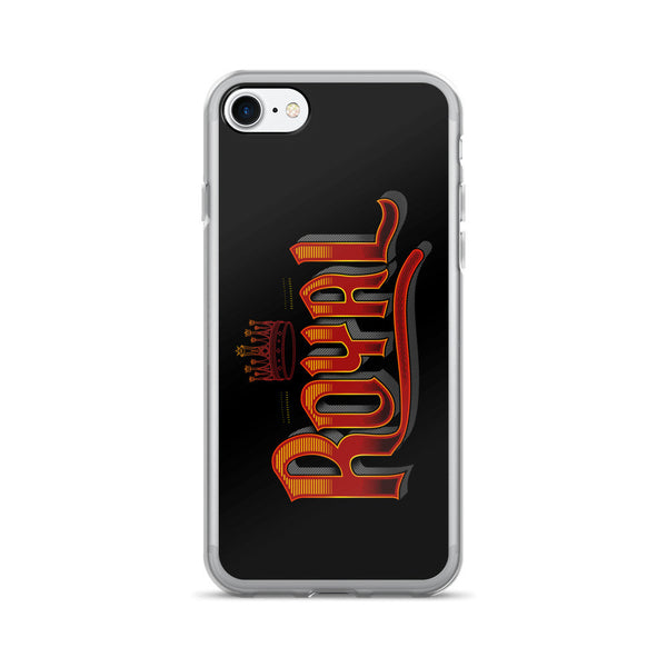 PARTIALLY ROYAL: ROYAL IPHONE 7/7 PLUS CASE