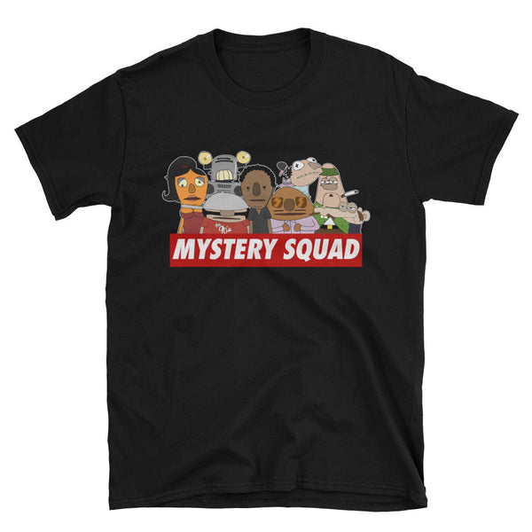 DOUBLE TOASTED: MYSTERY SQUAD T-SHIRT