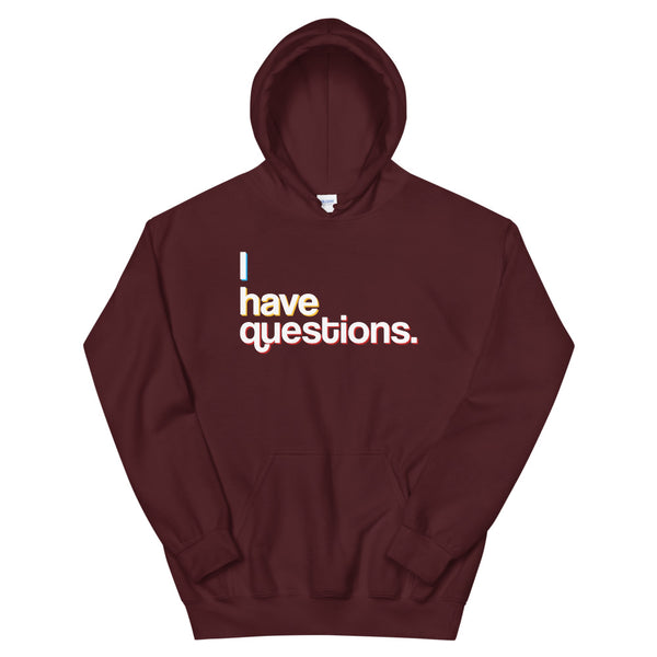 Questions White Line Hoodie - Adult