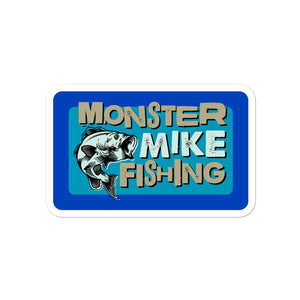 Monster Mike Removable Sticker