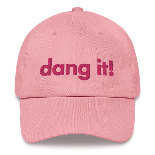 Pink Dang It Dad Cap