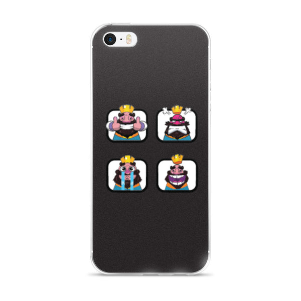 ANIKILO: EL REY IPHONE 5/5S/SE, 6/6S, 6/6S PLUS CASE