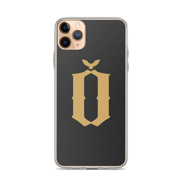 Gold Logo iPhone Case
