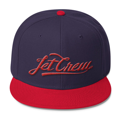 JET CREW: RED LOGO HAT
