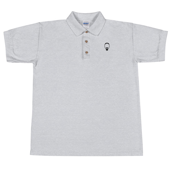 Face Embroidered Polo