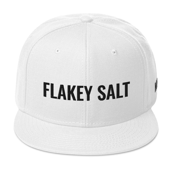 Flakey Salt White Snapback