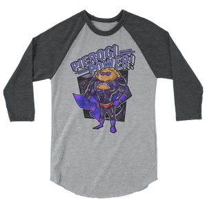Pierogi Power Raglan Shirt