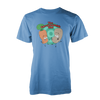 THE CARROT AND POTATO SHOW: THE T-SHIRT (BLUE)