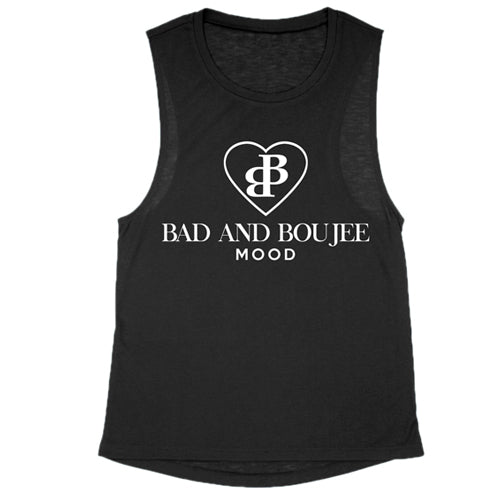 bad and boujee workout tee - Tights by Velma Canaday