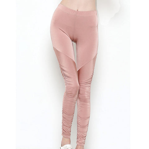 Ballerina Pink Leggings by Velma Canaday