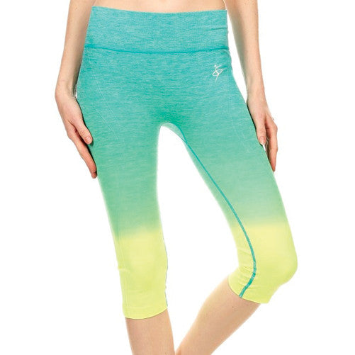Canarie Ombre Capri Tights Presented by Velma Canaday