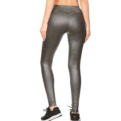 Metallic Leggings by Velma Canaday