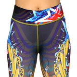 Sword print leggings; Tights Presented by Velma Canaday